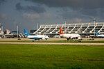 Planes at Xiamen Gaoqi Airport.jpg