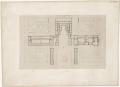 Plans du rez-de-chaussée et du premier étage du palais de Versailles, Éditeur Gavard, premier étage - Gallica 2011.png
