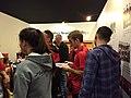 Plantel de Newell's en la Feria del Libro 02.jpg