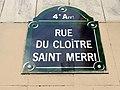 Plaque de la Rue du Cloître-Saint-Merri - Paris.jpg