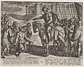 Plate 19- Men from the Fortress Surrender and Pledge Their Lives to Civilis, from The War of the Romans Against the Batavians (Romanorvm et Batavorvm societas) MET DP863053.jpg