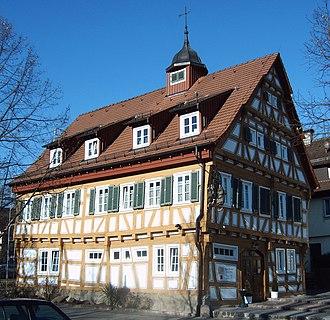 Plüderhausen - Old town hall, built in 1569