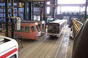 Plzeň, Škoda Transportation, rozestavěný vůz metra typu 81-71M II