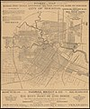Pocket map showing the railroads, street railways, manufactories, deep water connections, blocks and subdivisions of the city of Houston (14006571081).jpg