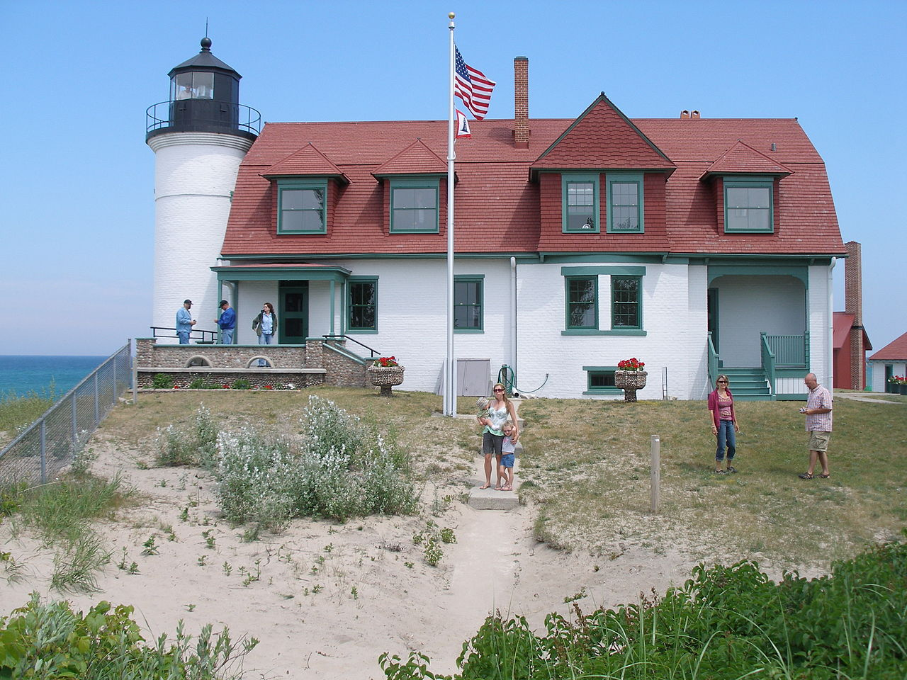 Point Betsie Light House in Frankfort MI