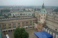 Widok z wieży zamku