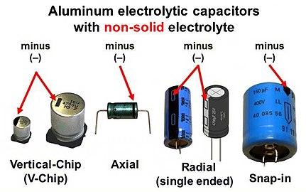 4 condensateurs 10uF 25V 125°C BC Components 128 SAL-RPM