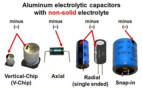 Aluminum electrolytic capacitor wikipedia greentooth