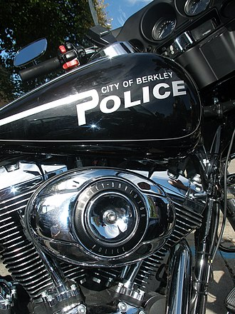 Harley-Davidson Twin Cam engine - A police issue Twin Cam 96.