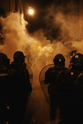 Tear gas - Tear gas in use in France in 2007