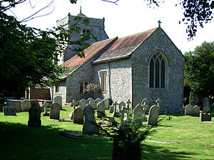 Poling, West Sussex - Image: Poling St Nicholas Church