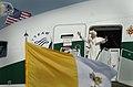 Pope Benedict XVI Shepherd One at Andrews Air Force Base.JPG