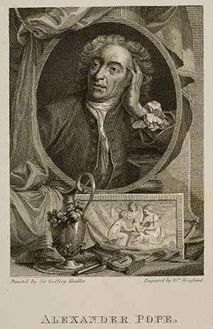 Portrait of Alexander Pope