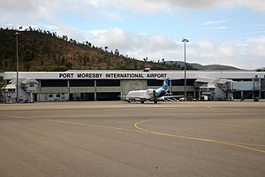 Jacksons International Airport - Image: Port Moresby Intl Airport 2008
