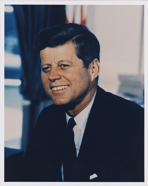 File:Portrait Photograph, President John F. Kennedy. White House, 07-11-1963 - NARA - 194255.tif