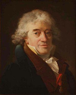 Gerard van Spaendonck - Portrait by Nicolas-Antoine Taunay