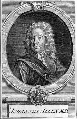 John Allen (physician) - Image: Portrait of John Allen. Wellcome L0007175
