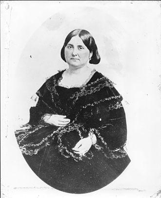 Arcadia Bandini de Stearns Baker - Portrait of Arcadia de Baker in 1885