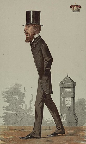Spencer Cavendish, 8th Duke of Devonshire - Caricature of Spencer Compton Cavendish by Carlo Pellegrini
