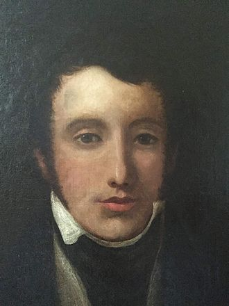 Thomas Oliphant (lyricist) - Thomas Oliphant as a young man. Date and artist unknown. The original is in his family's collection.