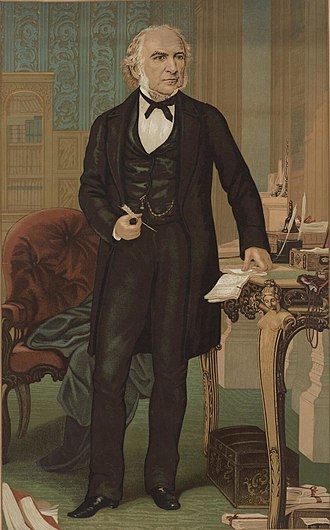 William Ewart Gladstone - Portrait of Gladstone c.1870