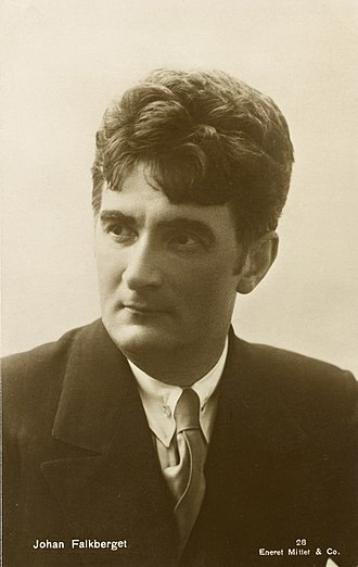 Johan Falkberget - Image: Portrett av Johan Falkberget