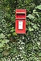 Post box on Brickwall Lane, Sefton Village.jpg