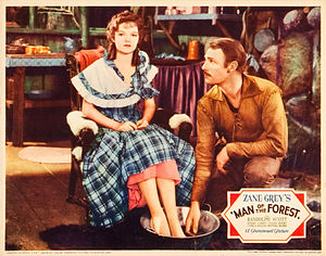Randolph Scott - With Verna Hillie in Man of the Forest, 1933