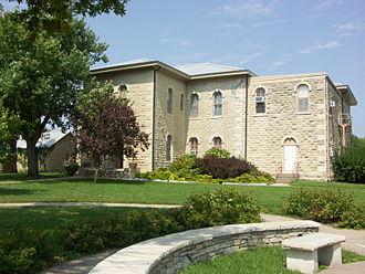 Westmoreland, Kansas - Pottawatomie County Court House (2009)