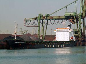 Powstaniec Styczniowy - IMO 8313960, Mississippi harbour, Port of Rotterdam, Holland 04-Jul-2006 photo-1.jpg