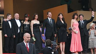 In the Beginning (2009 film) - The cast and director at the 2009 Cannes Film Festival.