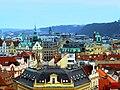 Prag – Blick vom Altstädter Rathausturm Richtung Norden - Pohled z Věž Staroměstské radnice severní - panoramio.jpg