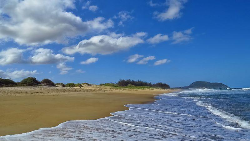 Praias desertas em Florianópolis