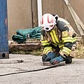 Preemraff firefighters training in Grötö industrial area 5.jpg