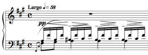 Preludes, Op. 23 (Rachmaninoff) - No. 1