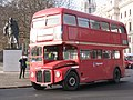 Preserved Routemaster bus RM980 (USK 625), Parliament Square, 9 December 2005 uncropped.jpg