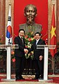 President Lee and his Vietnamese counterpart Nguyen Minh Triet held a bilateral summit (4347383043).jpg