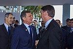 Presidente Eleito, Jair Bolsonaro visita Ministro da Defesa (30813507957).jpg
