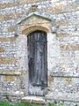Priets door, All Saints Church, Hilton - geograph.org.uk - 985968.jpg
