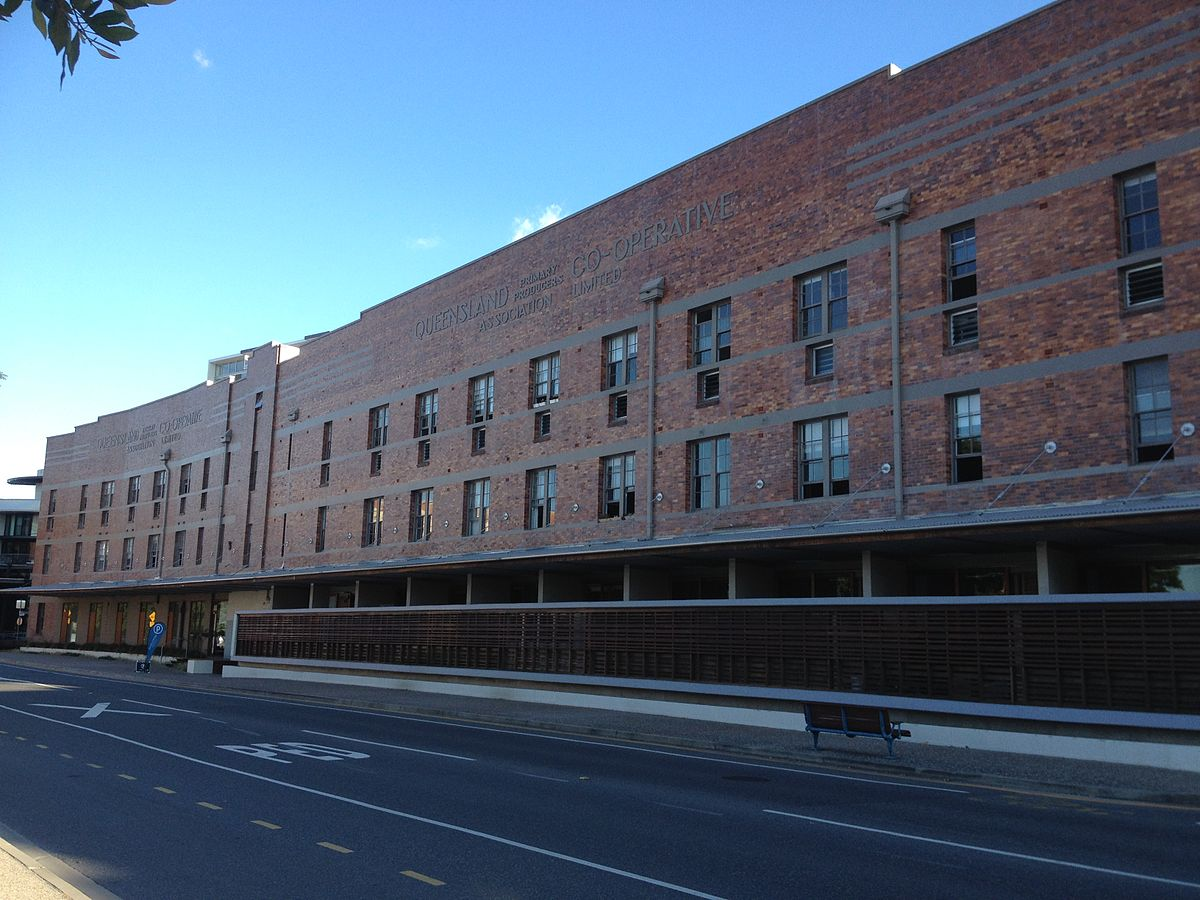 Queensland primary producers no 4 woolstore wikipedia for 16 skyring terrace teneriffe