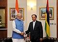 Prime Minister Narendra Modi with Mauritius Prime Minister Anerood Jugnauth.jpg