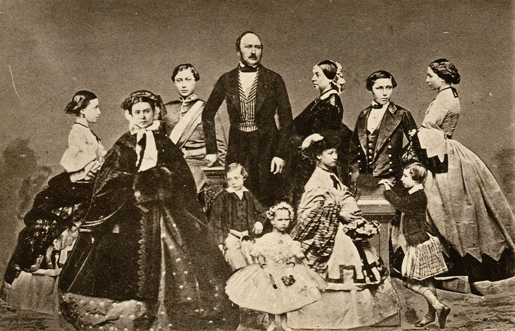 Queen Victoria and her consort Prince Albert were passionate lovers with a mutual physical attraction but with seemingly no understanding of family planning The result was nine children born between 1840 and 1857 Albert intelligent and ambitious was determined to put this burgeoning brood to