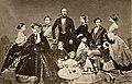 Prince Albert of Saxe-Coburg-Gotha, Queen Victoria and their children by John Jabez Edwin Mayall (née Jabez Meal).jpg