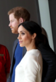 Prince Harry and Ms. Markle visit Titanic Belfast (40973153941).png