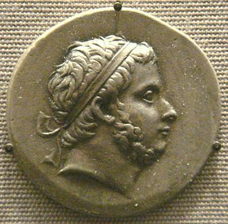 Prusias I of Bithynia - Tetradrachm of Prusias I (older and bearded). British Museum.