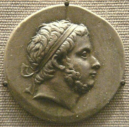 Монета царя Вифинии Прусия