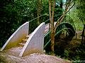 Puente en arco, en el caño Fonseca, Siuna, RAAN, Nic. - panoramio.jpg