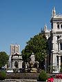 Puerta de Alcalá, Fuente de Cibeles, Palacio de Comunicaciones y Torre de Valencia.jpg