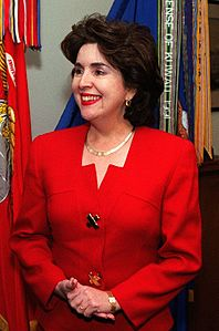 Puerto Rican Governor Sila Calderon at the Pentagon, Feb 27, 2001.jpg