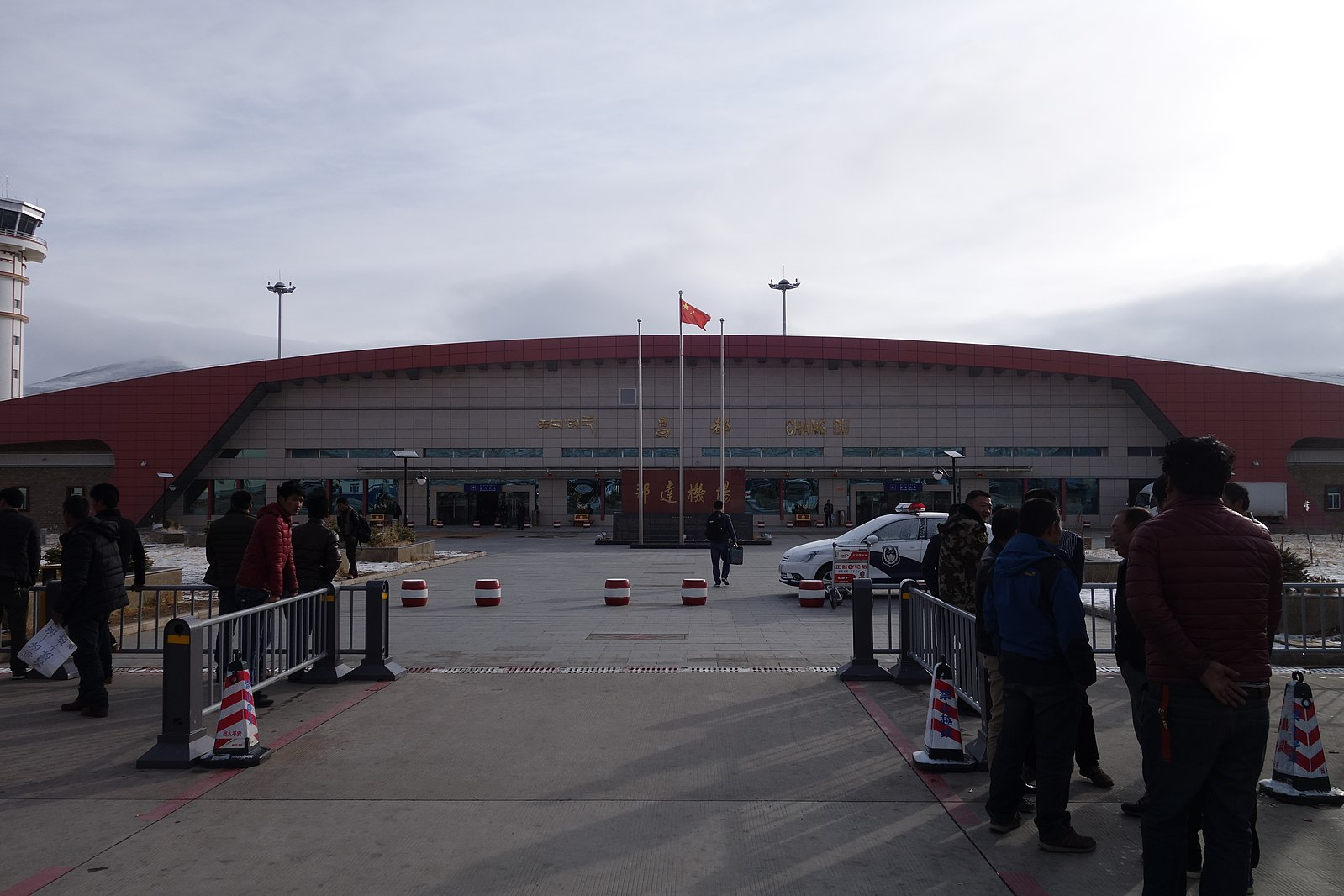 Qamdo, Bamda Airport is one of the highest airports in the world